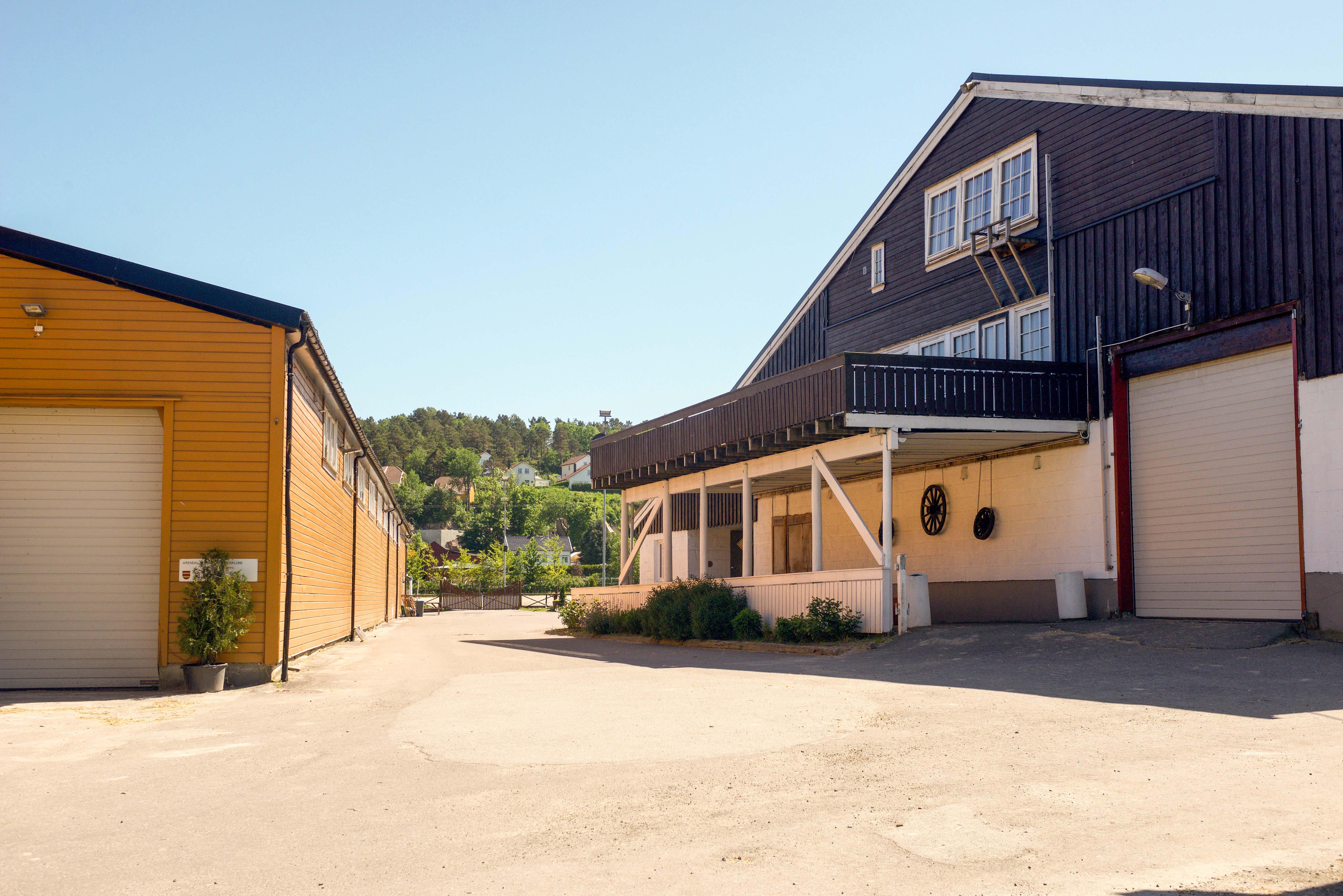Arendal og Grimstad rideklubb, ridehuset