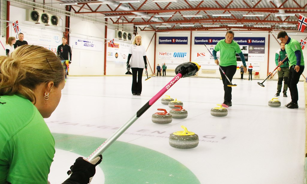 NM miks curling, Stange curlinghall