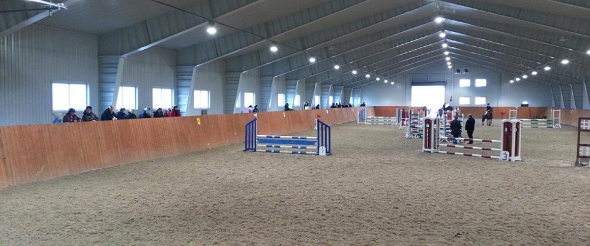 Askim hestesportsenter, ridehall