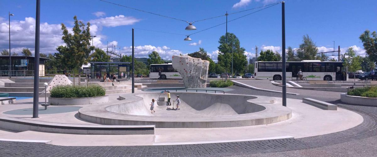 Jernbaneparken Sør Gjøvik, bowl