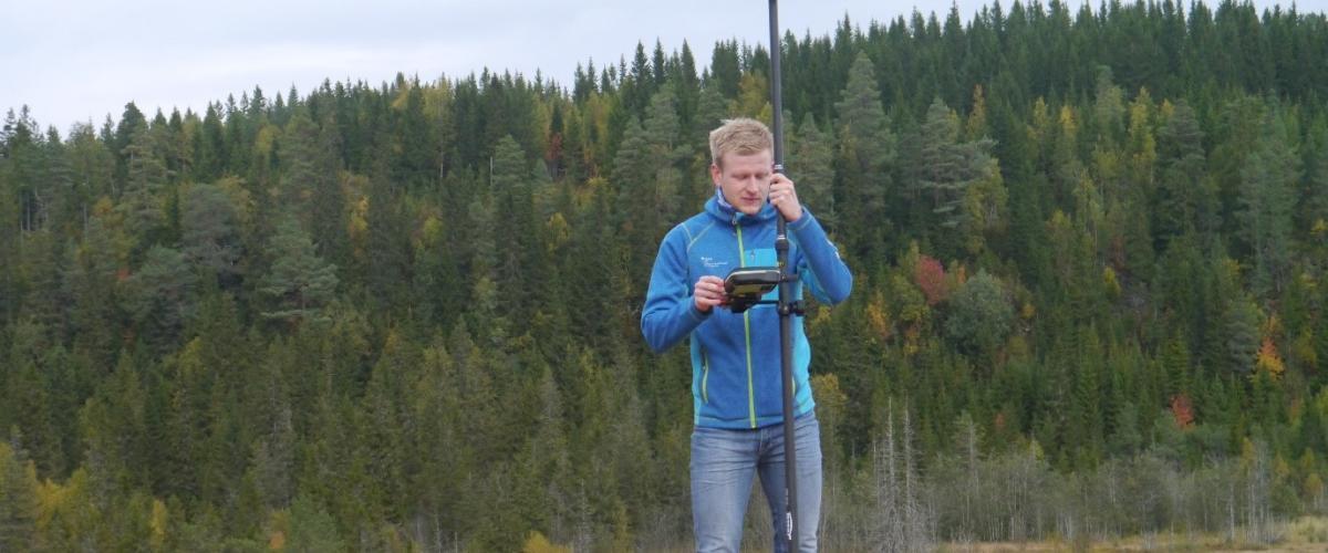 Resultater fra målinger av snølageret i Granåsen