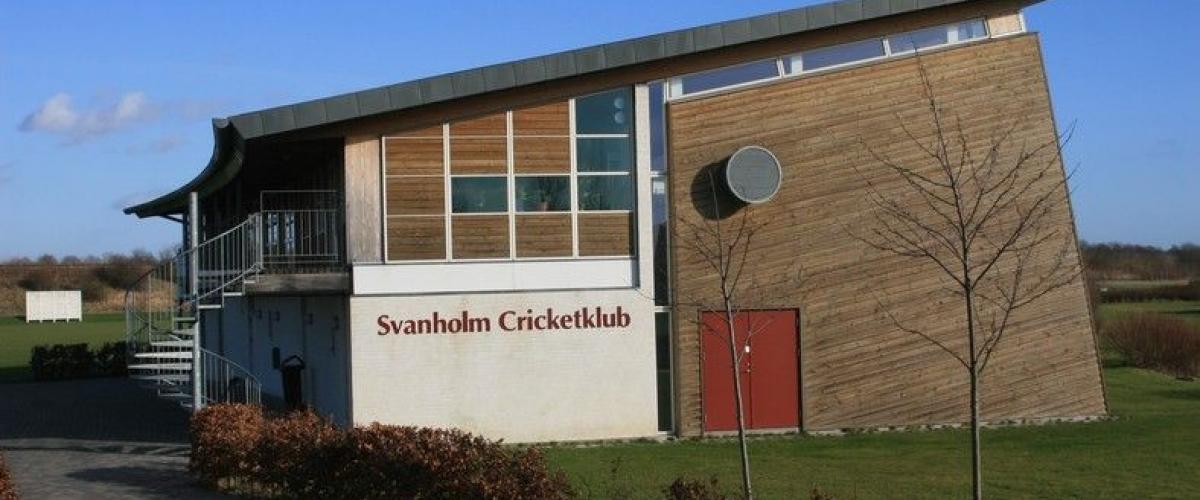 Svanholm Cricketklub klubbhus