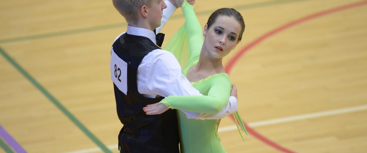 Illustrasjonsbilde dans, dansende par