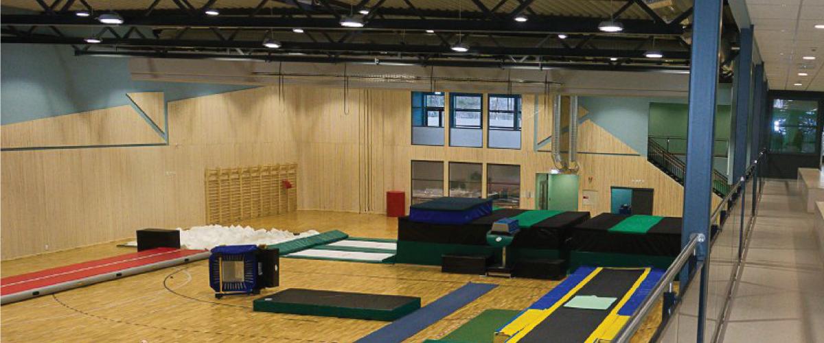 Stavern idrettshall basishall