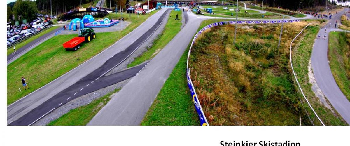 Oversiktbilde Steinkjer Skistadion
