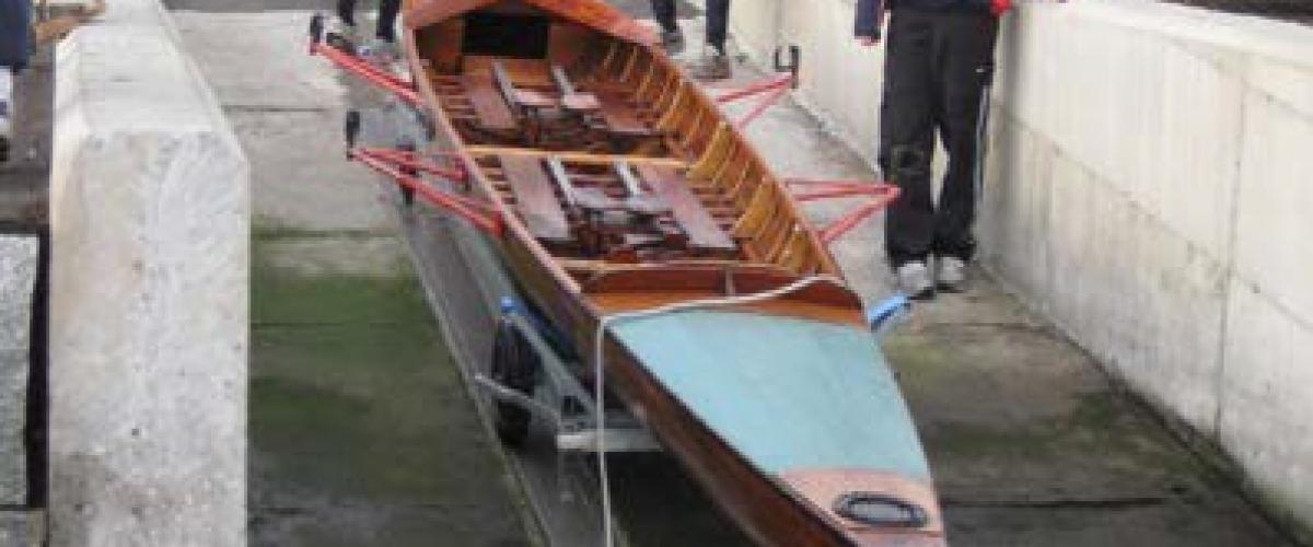 Turbåt i sliske
