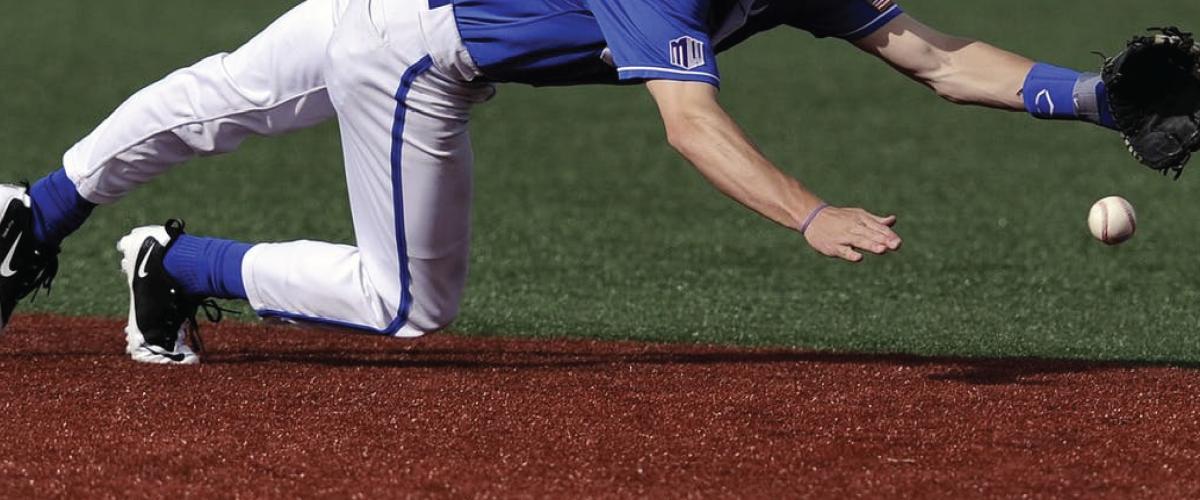 Illustrasjonsbilde baseball