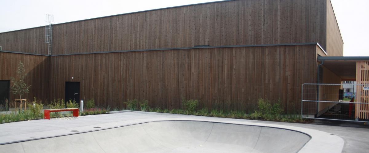 Skatebowl Glommasvingen skole