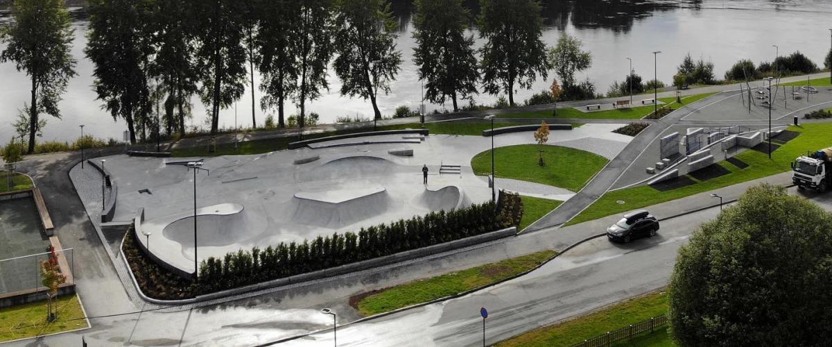 Strandpromenaden Flow Bowl og Street Plaza
