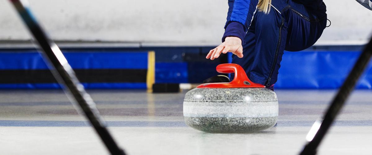 Illustrasjonsbilde curling