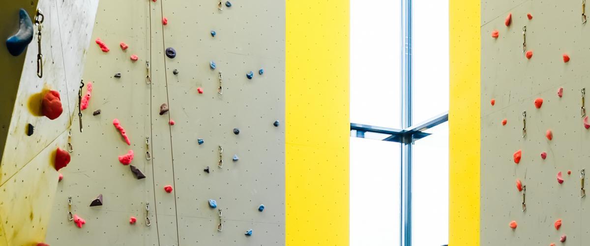 Eika sportssenter klatrehall