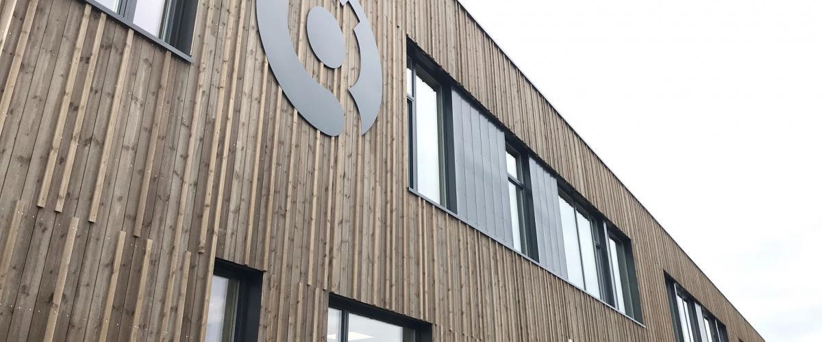 Fasade Glommasvingen skole
