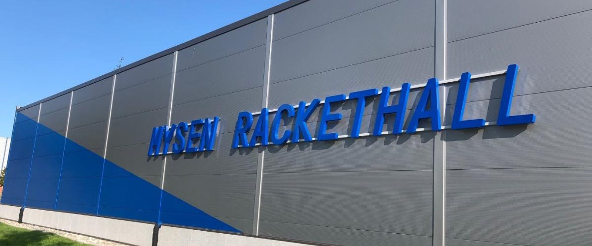 Mysen rackethall fasade