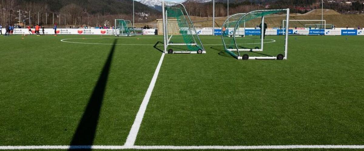 Fotball i Hafstadparken