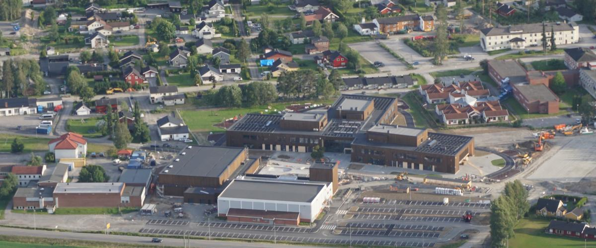 Dronefoto Glommasvingen skole