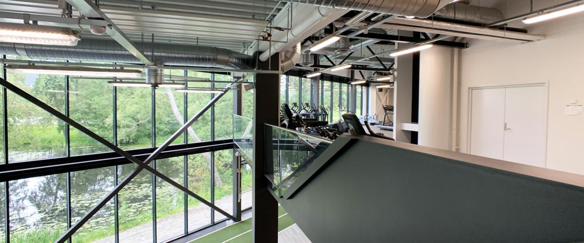2. etasje i treningssenteret i Eika Sportssenter