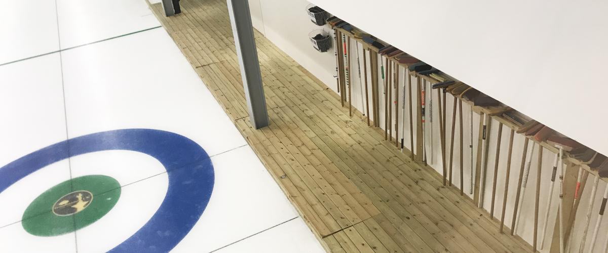 Leangen curlinghall isbaner og gåsone