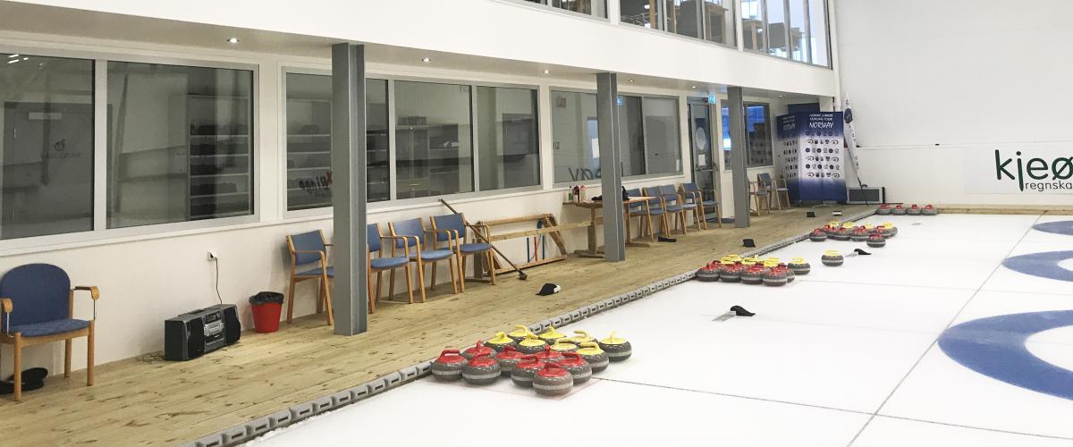 Leangen curlinghall gåsone ved isbanene