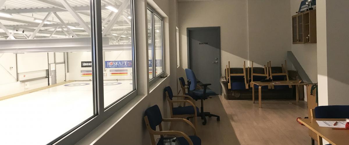 Leangen curlinghall sosial sone