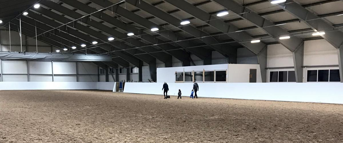 Ridebane inne Haugaland Hestesport Arena