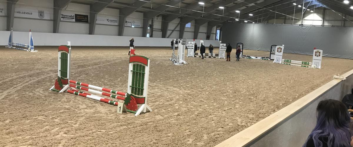 Haugaland Hestesport Arena ridehall
