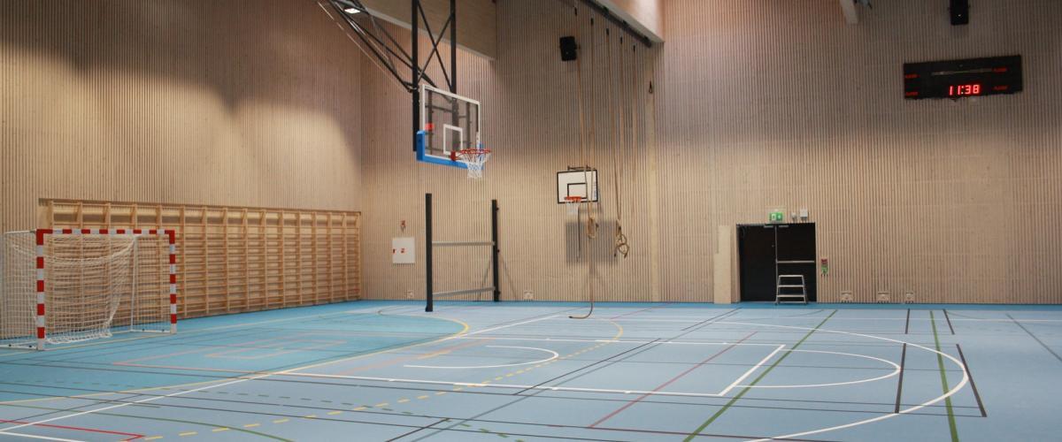 Glommasvingen skoleanlegg idrettshall