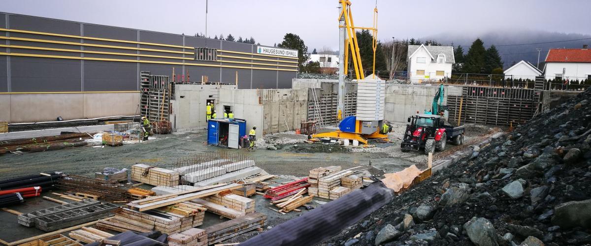 Byggeplass Kuleisen