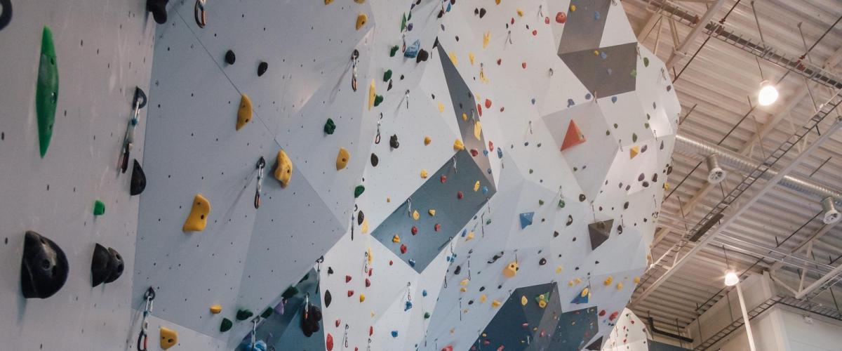 Mørkvedhallen klatreanlegg