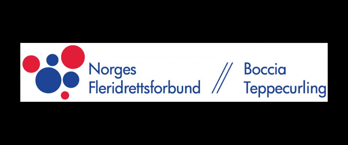 Logo Norges Fleridrettsforbund - Boccia og Teppecurling
