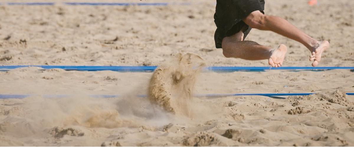 Illustrasjonsbilde sandbane