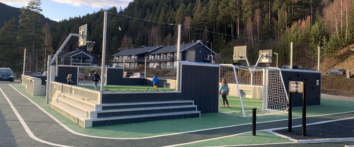Løpebaner på Møteplassen 0-100 i Nord-Aurdal