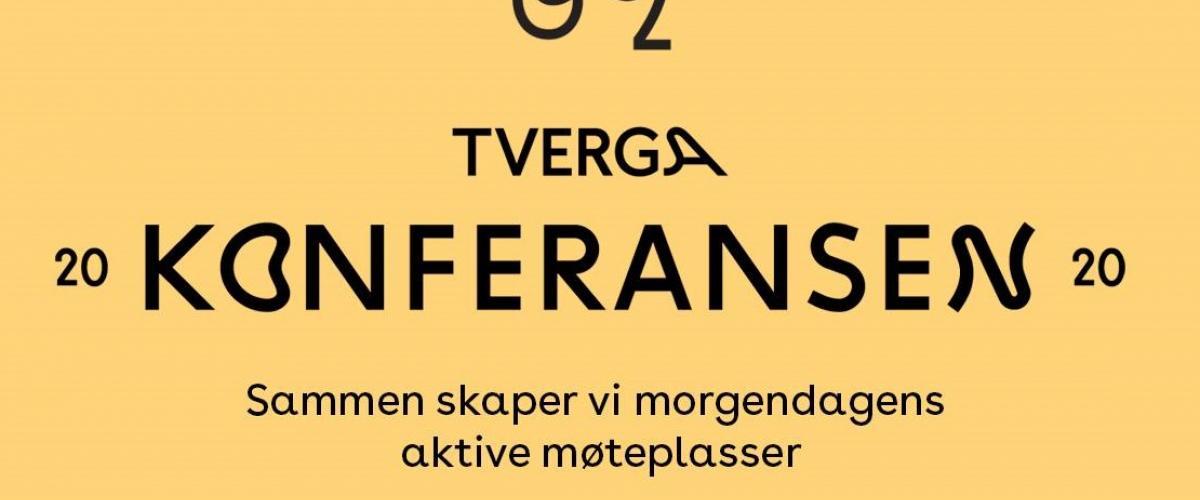 Tverga-konferansen 2020, 29-30. april på Sentralen i Oslo