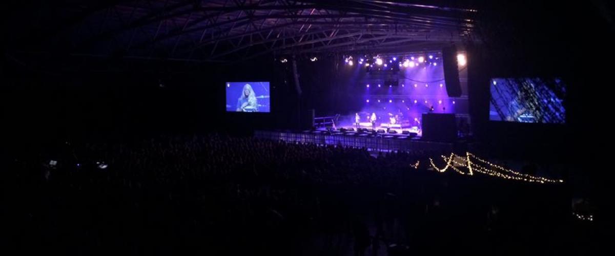 Konsert i Vestfoldhallen