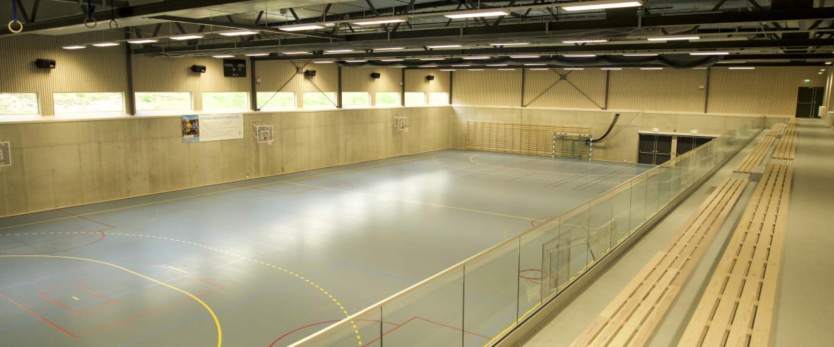 Sjulhustunets idrettshall: Alvdalshallen