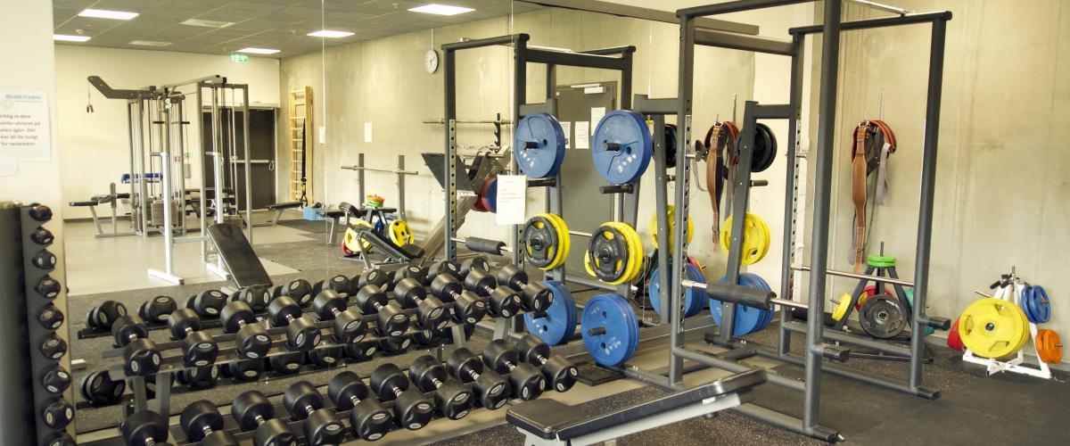 Sjulhustunet styrketreningsrom