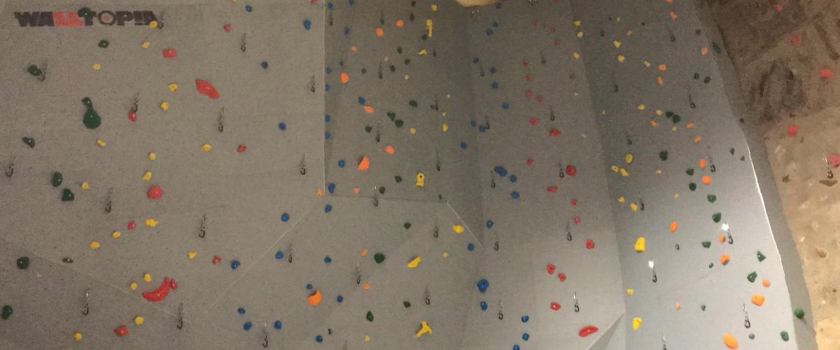 Glommasvingen skoleanlegg klatrevegg