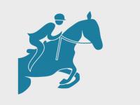 Illustrasjon, rytter på hest