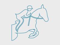 Illustrasjonsbilde, rytter på hest