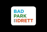 Logo BAD, PARK og IDRETT (BPI)