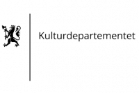 Kulturdepartementets logo