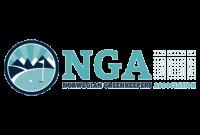 Logo Norwegian Greenkeepers Association, NGA
