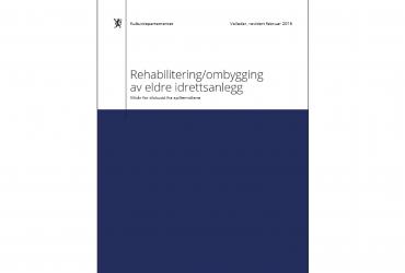 Forside Rehabilitering/ombygging av eldre idrettsanlegg